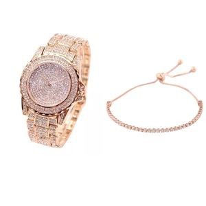 "Accessories - ✨New! ""Turn Off the Lights"" Rose Gold Watch"